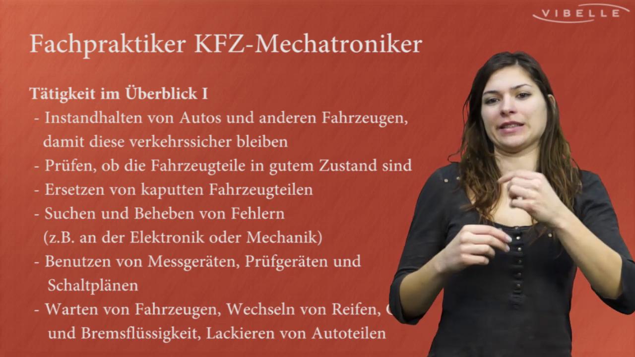 Fachpraktiker/in für KFZ-Mechatronik