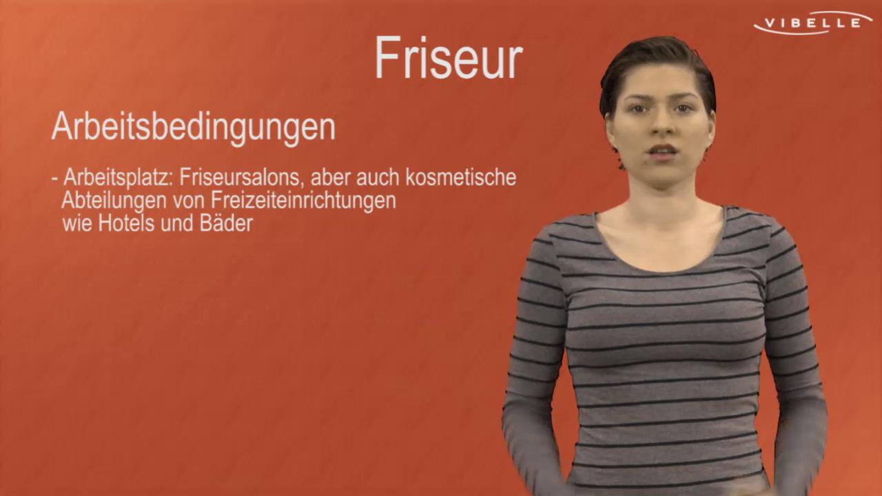 Friseurin/Friseur