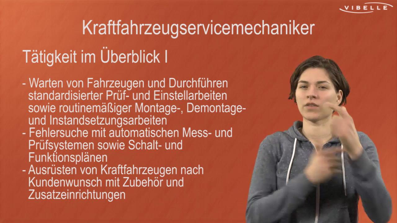 KFZ-Servicemechaniker/in