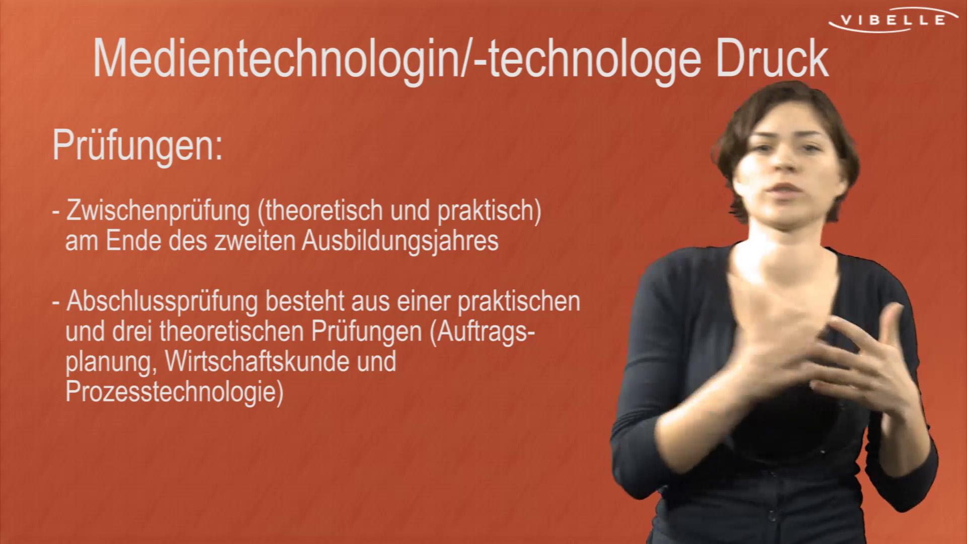 Medientechnologin/-loge Druck