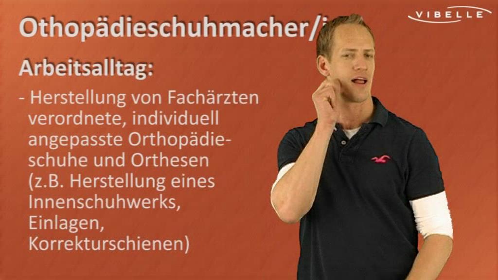 Orthopädieschuhmacher