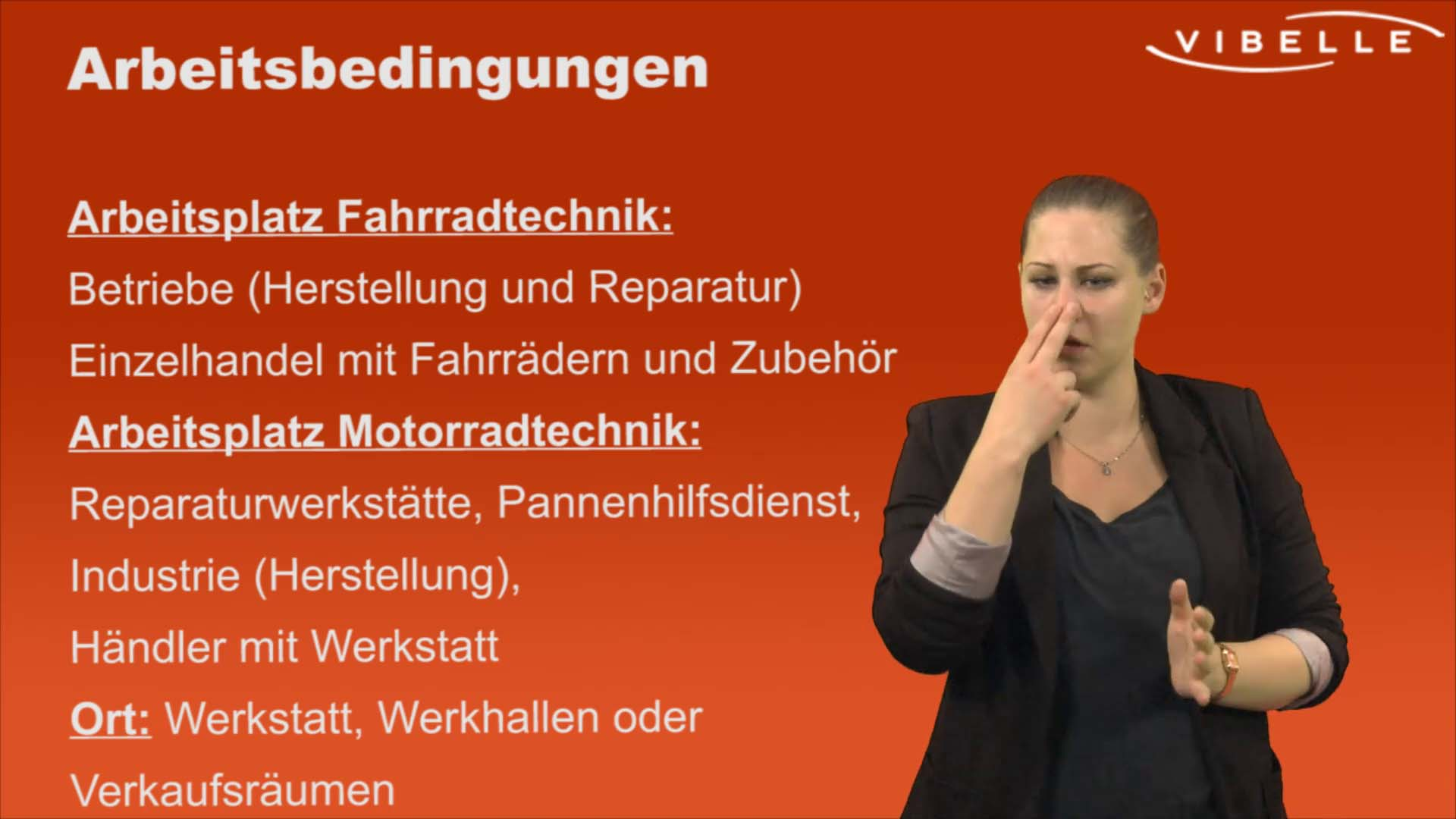 Zweiradmechaniker/in