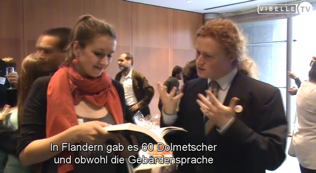 Julie Carlier und Timo Rowies