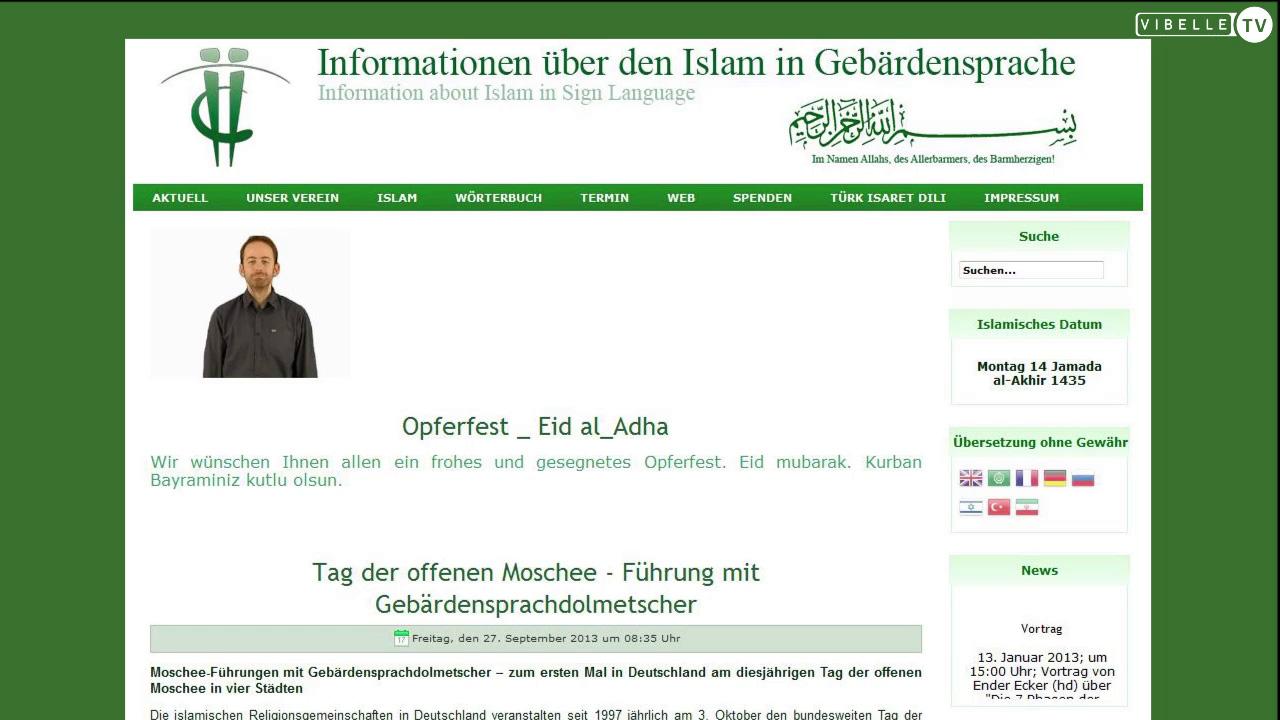 Ege Karar, Deaf Islam e.V.