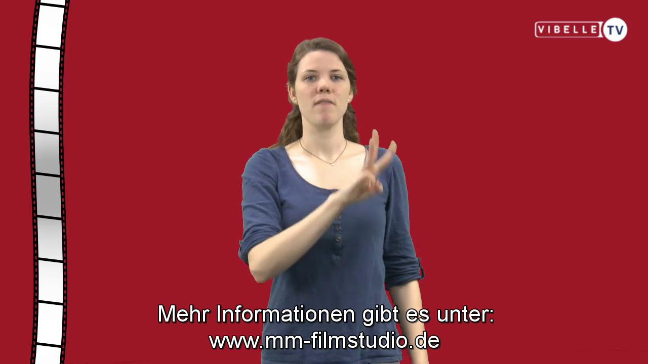 Kino in Gebärdensprache