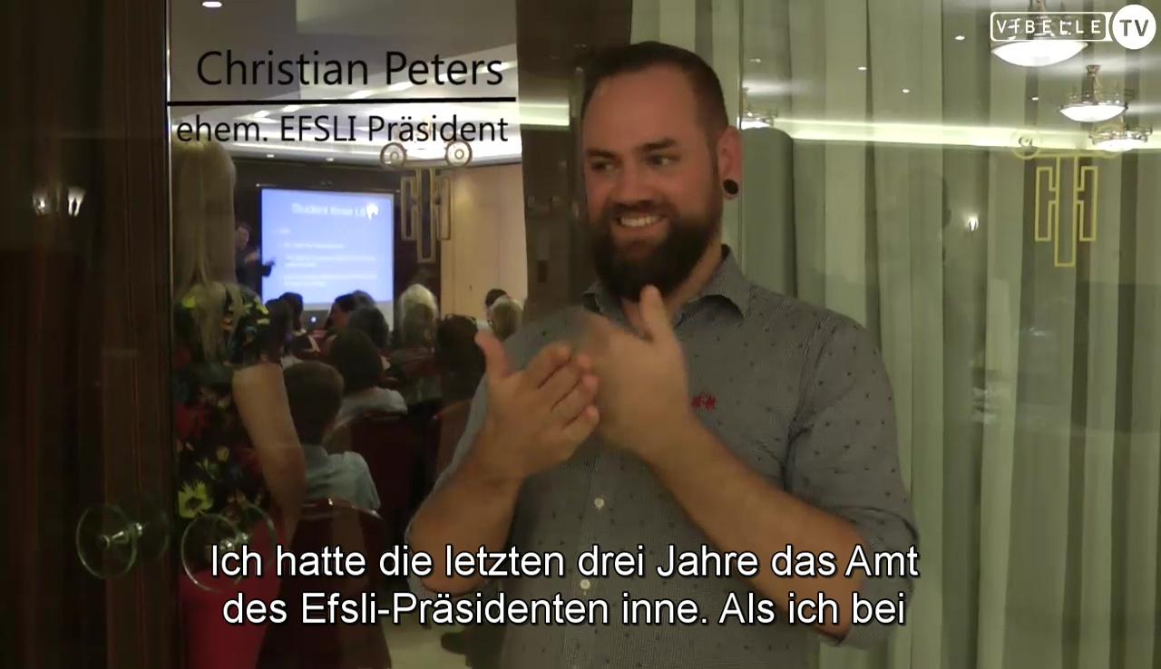 Christian Peters - Efsli in den letzten drei Jahren