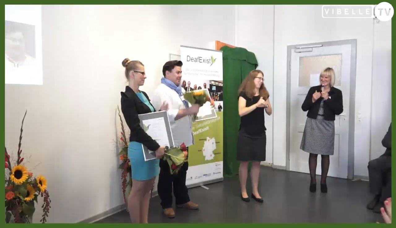 Siegerehrung zum DeafExist-Award 2016
