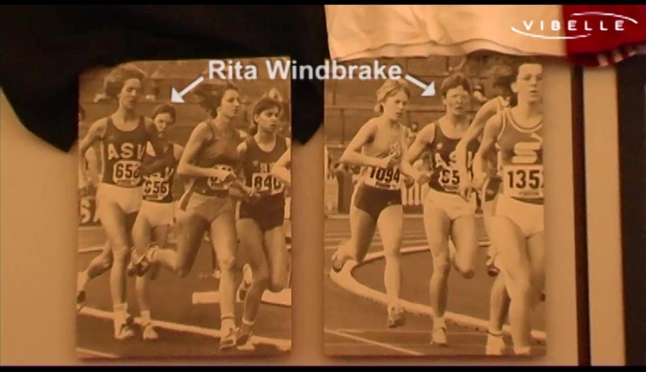 Rita Windbrake: Gehörlose Leichtathletiklegende