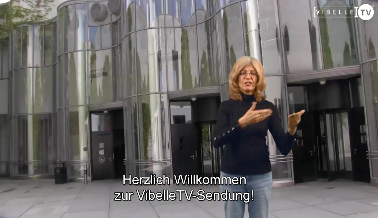 Isa Werth: Kunstvermittlung in Gebärdensprache