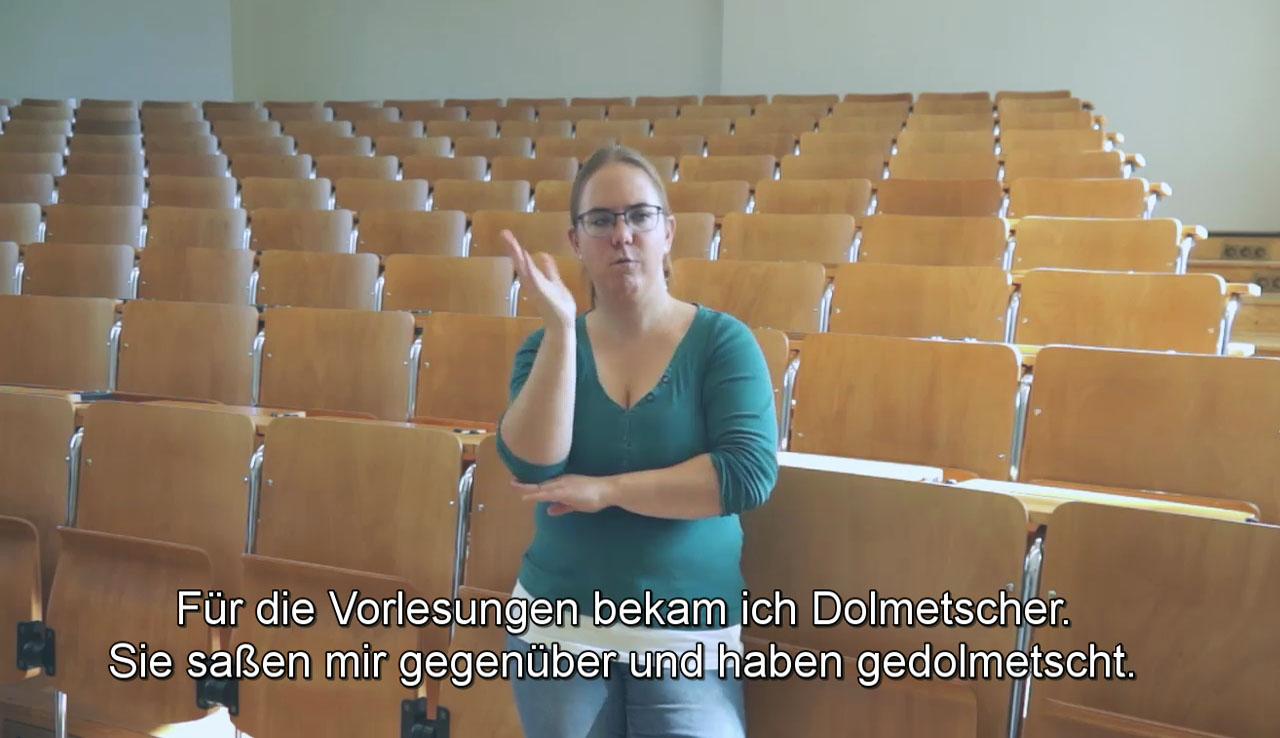 Lisa Schuler: Dolmetscherinnen im Studium