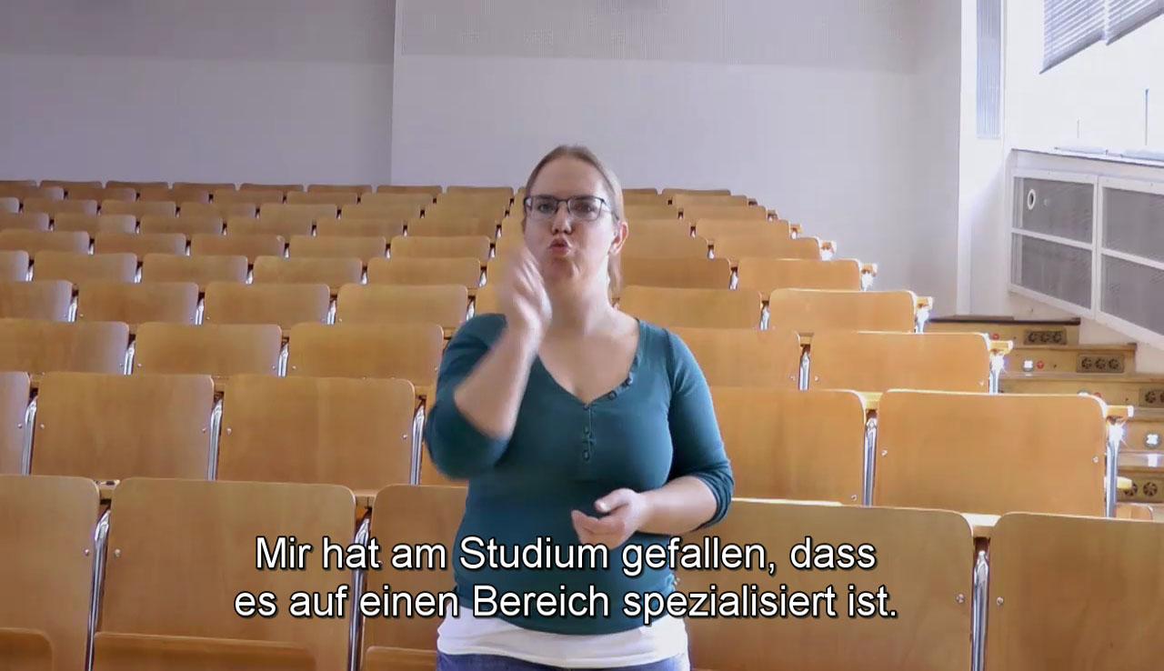 Lisa Schuler: Ich war die einzige Gehörlose!