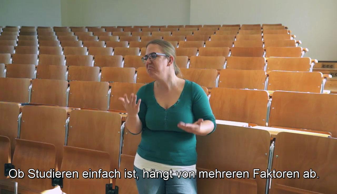 Ist das Studium für Gehörlose einfach?