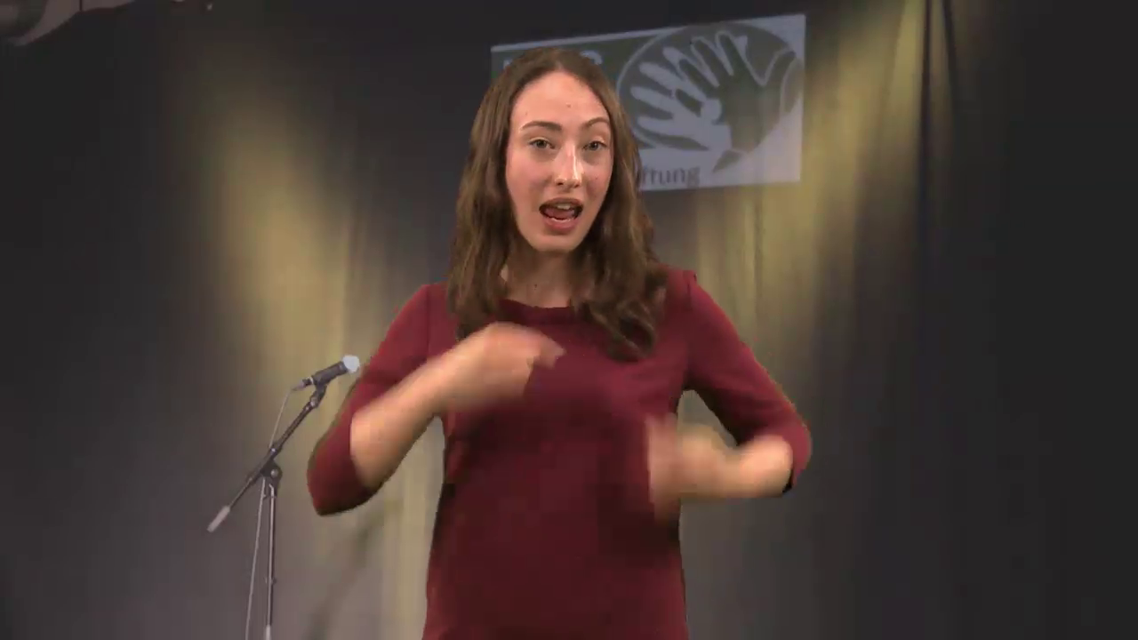 Laura Blömker - Gebärden Poetry Slam