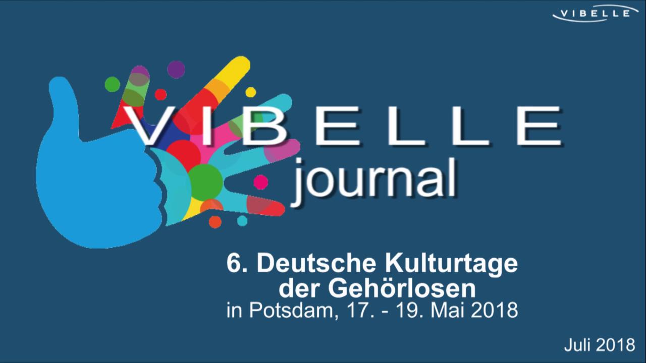 Isa Werth - Kulturtage der Gehörlosen 2018 in Potsdam