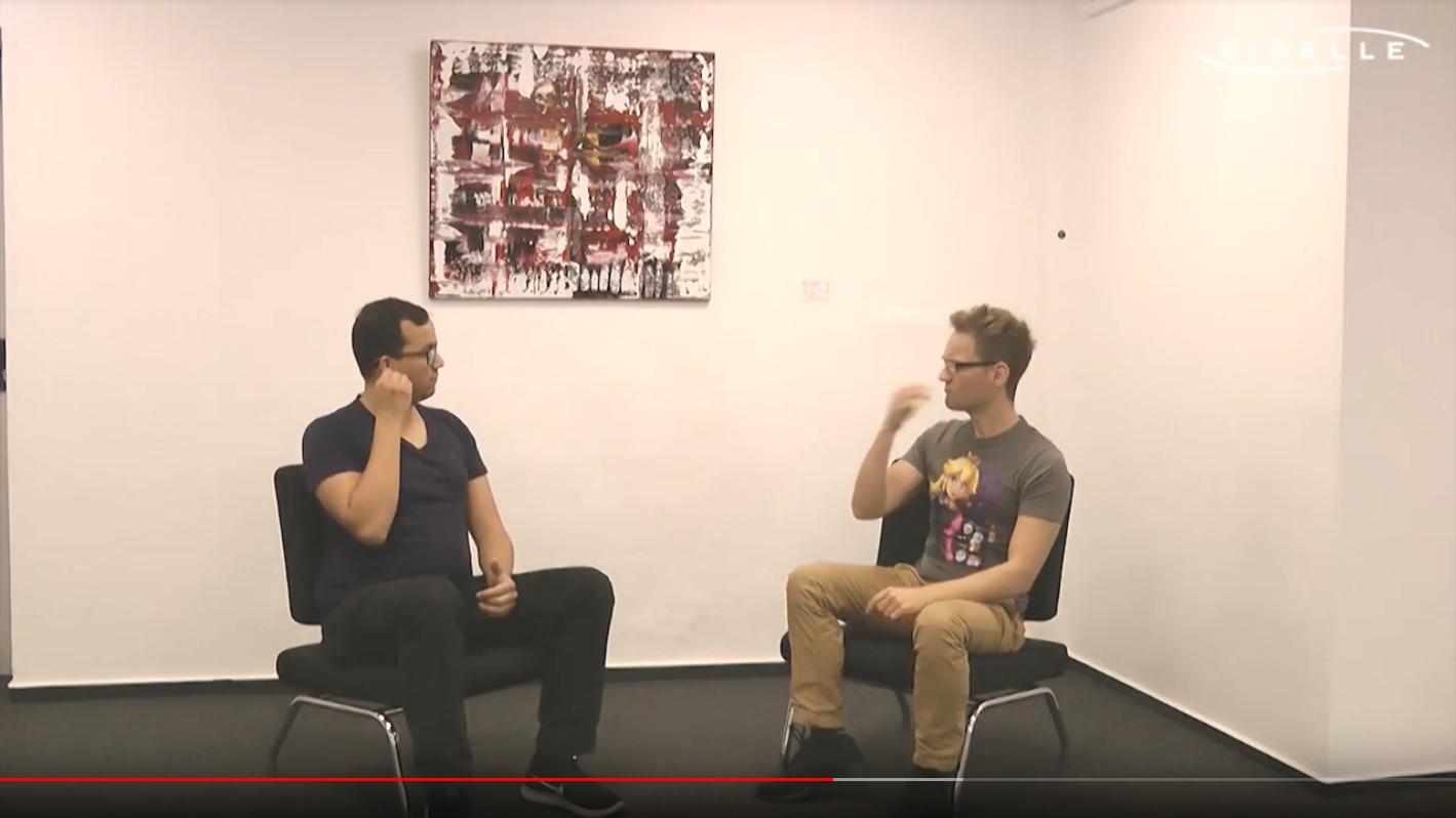 Im Gespräch: Benjamin Gutwein und Harry Krasson